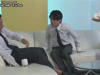 Japanese MILF Secretary Drives Crazy Young Boss