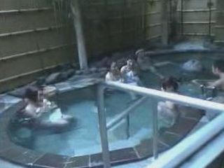 Relaxing At Spa Center Will Turn Into Real Nightmare For Those Helpless Japanese Girls