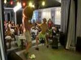 Male stripper has the day of his life
