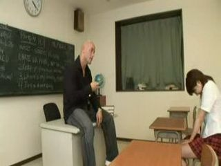 Korean student is punished by her teacher