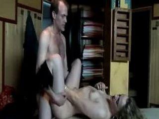 Blonde prostitute fucked in her room