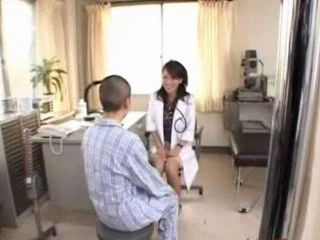 MILF Doctor Abuse Boy Patient at Hospital