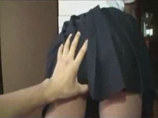 There Is Nothing So Good Then A Taste Of Young Japanese Schoolgirls Butt
