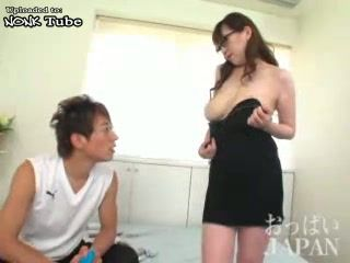 Girlfriends Stepmom Attacked and Fucked Japanese Boy