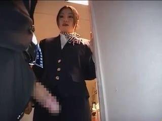 CFNM Tekoki In Airplane