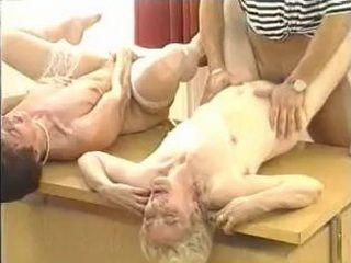 Granny Hooker Double Fuck