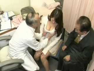 Wife Gets Anal Fucked At Gyno Exam While Her Hubby Waits For Her