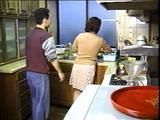 Neighbor Boy Attacked and Fucked Japanese Mature Housewife In Kitchen - Retro Japan Porn