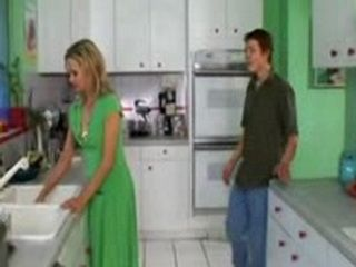 Stepmom Gets Anal Fucked In Kitchen