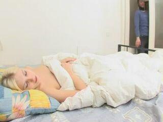 Anal Fucked Sleeping Blonde Teen