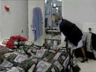 Granny Maid Dped By Two Boys Early In The Morning