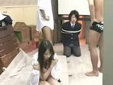 Japanese Girl Cheated Tied Boyfrien with his Best Friends