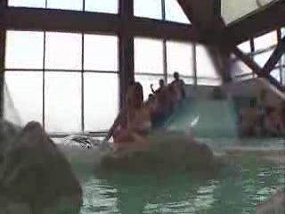 Teen Asian Gets Groped By Bunch Of Old Men At The Public Pool