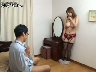 Busty Japanese Housewife Tied and Violated by her Hubby