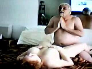 Amateur Granny and Grandpa Homemade Sunday Afternoon Fuck After Church