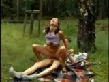 Teens Fuck On A Picnic