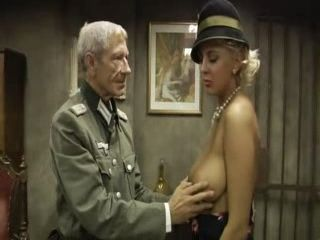 Nazi Officer Blackmail and Fuck WW2 Milf