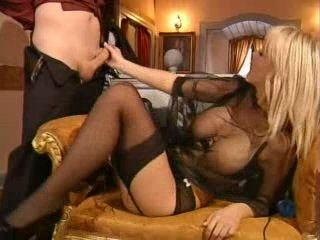 Hot Blond Milf Caught Masturbating Gets Fucked
