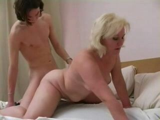 Blonde Mature Mom Fucked By Boy