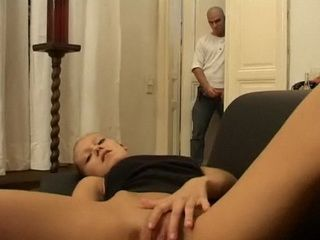 Stepbrother Catch Stepsister Masturbating, Fisted her First than Fucked for Punishment