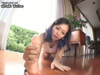 Japanese Housewife Teased Too Much Gardener Boy