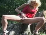 German Babes Public Outdoor Pissing 3xLx
