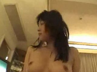 Hairy asian girlfriend gets her pussy fucked