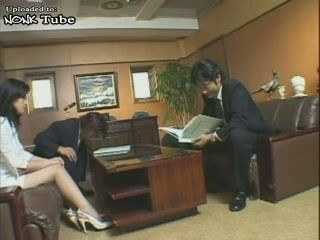 Blackmailed Japanese Guy Gets His MILF Wife Fucked By Ex Business Partner