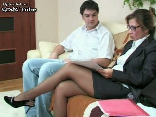 Lady Boss Fucked By Young Coleague
