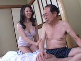 Asian MILF Housewife Fuck Her Old Husband