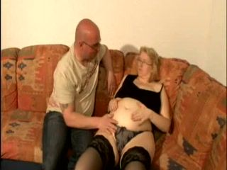 Pregnant Mature Blonde Fucked