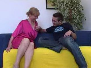 Sinful mom gets fucked by a 20 years old guy
