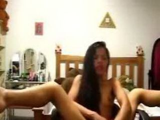 Asian Teen Masturbating On Webcam
