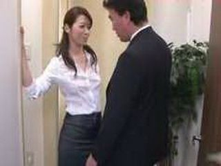 Japanese Pornstar Great Blowjob Facial