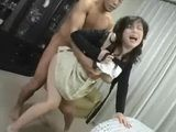 Horny Japanese Mom with Lover