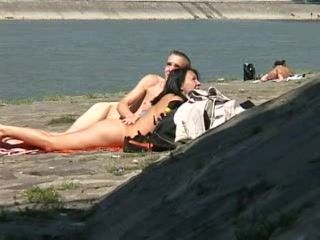 Teenagers Anal Fuck By The River Beach