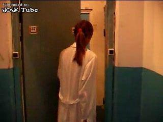 Russian Ambulance Nurse  Fucked By Patient - Fuck Fantasy