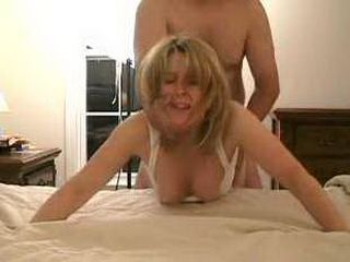 Beautiful MILF with hot ass gets slammed