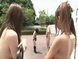 First day of naked in school in Japan