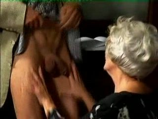 Busty Granny Fucked Her Girlfriends Son