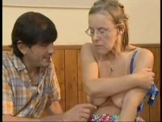 Depressed Granny Fucked By Neighbor Son