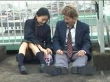 Japanese Handjob In Public 3