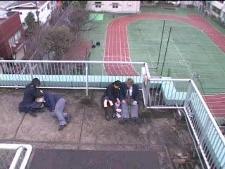 Japanese Handjob In Public 3