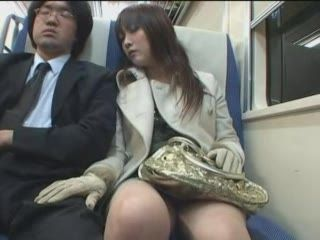 Japanese Handjob In Train 3