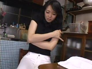 Asian Young Mom Found Some Interesting Stufs In Her Husbands House