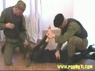 Terrorist  Girl Violated And  Fucked By Policeman