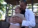 Mature Bitch Fucks On The Farm With Son In Law