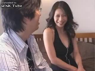 Hot Japanese MILF Fucked In Cheep Hotel By Nerd Colleague