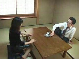 Japan  Shino Ozawa Staircase Mother uncensored 3