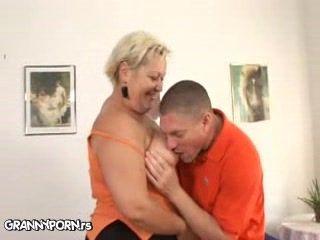 Fat Blonde Granny Sex